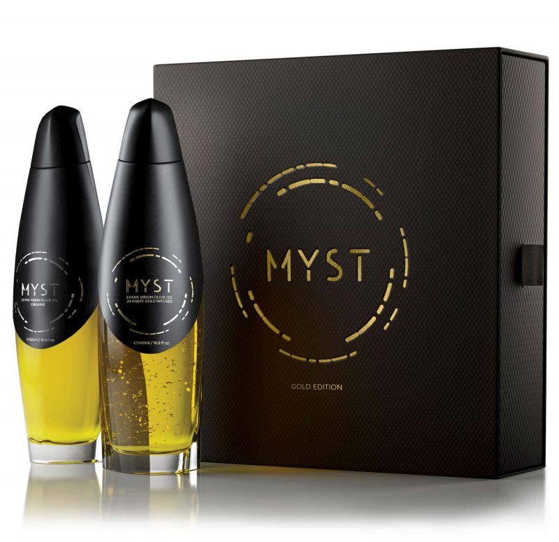Luxury Edition - MYST AEON GOLD - Bundle Case with two bottles out